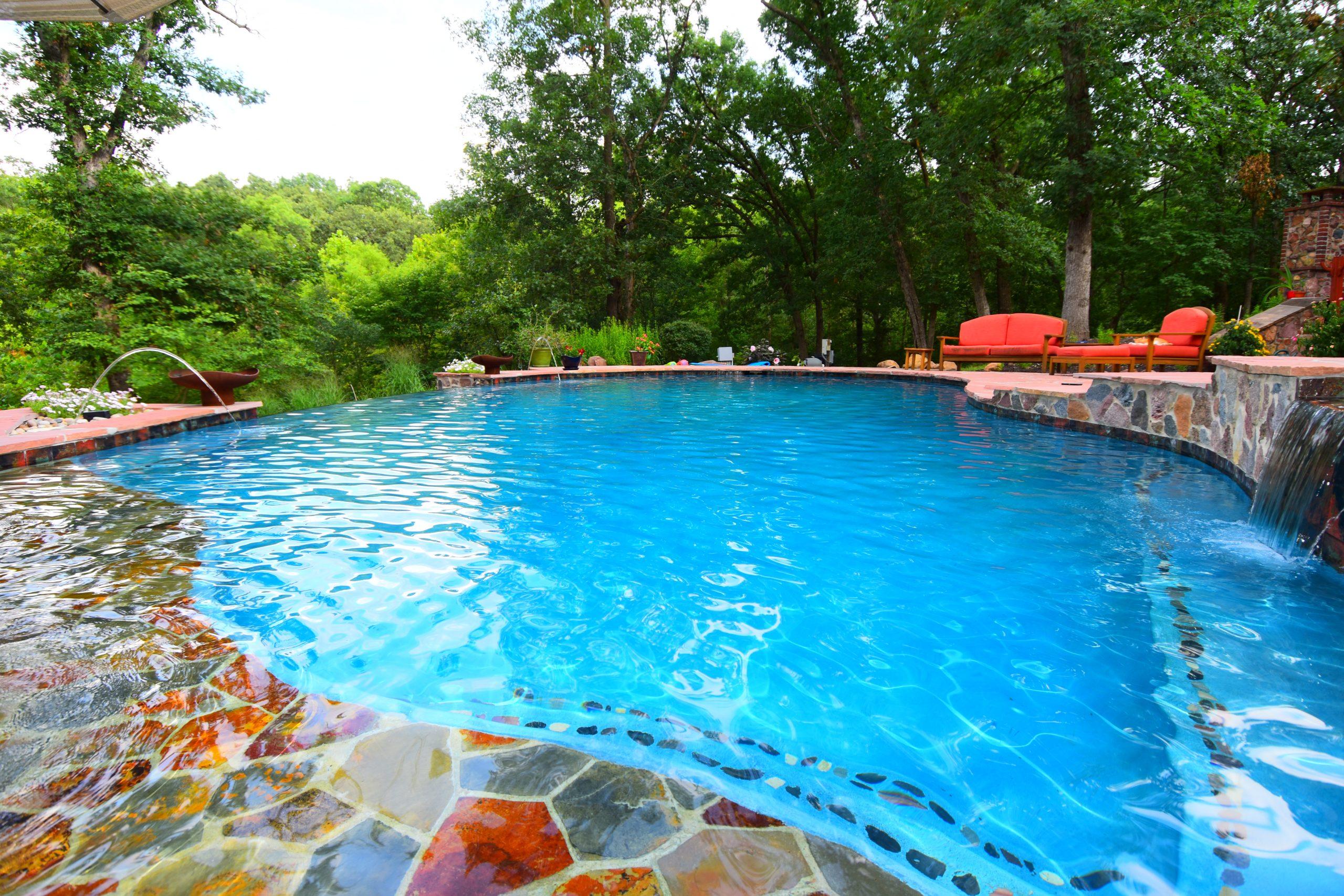 Oasis Pools & Spas Lansing KS Gunite Pool