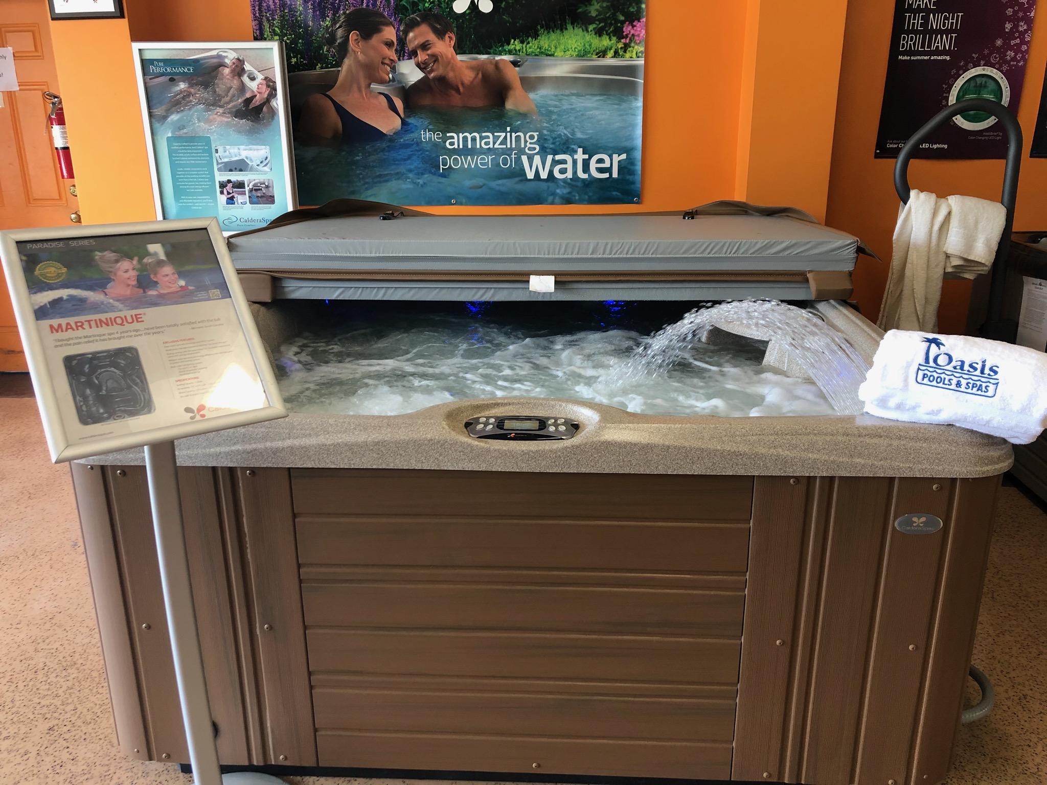 Oasis Pools & Spas Retail Store